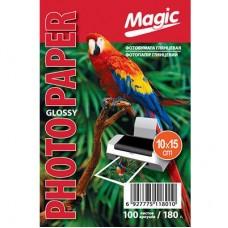 Фотобумага глянцевая 10x15 180г 100л Magic