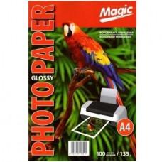 Фотобумага глянцевая A4 135г 100л Magic