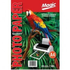 Фотобумага глянцевая A4 180г 20л Magic