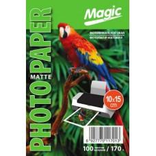 Фотобумага матовая 10x15 170г 100л Magic