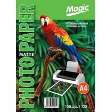 Фотобумага матовая A4 128г 100л Magic