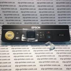 Панель управления принтера Epson XP-342 экран кнопки