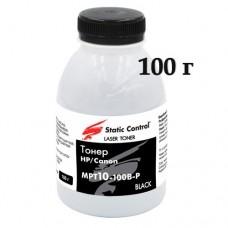 Тонер HP P1005 M1120 M125 Static Control MPT10-100B-P SCC (100г)